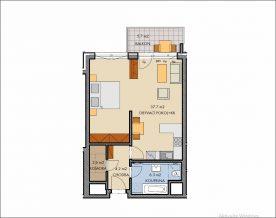 2+kk+balkon H4 502