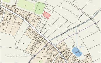 Pozemek Zaryby 122-14 mapa 1