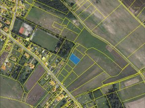 Pozemek Zaryby 122-14 mapa 3